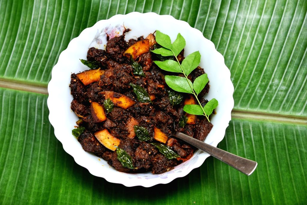 A tweet on the official handle of Kerala Tourism has courted controversy after promoting a beef recipe. Taking to its Twitter handle on Wednesday, @KeralaTourism posted a photo of a popular local delicacy 'Beef Ularthiyathu', with a link to the recip