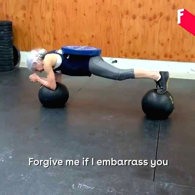 A video clipping of a 72-year-old retired teacher Lauren Bruzzone doing some awe-inspiring exercises in a gym has won awe and admiration from Twitter users. Twitterati was full of praise for the old ...