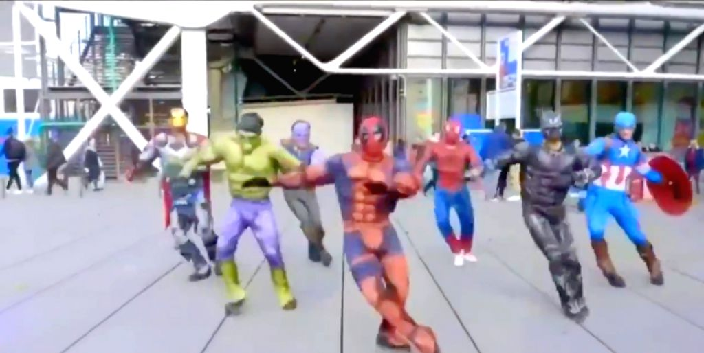 A video showing a group of members dressed in Avenger costumes and dancing to the song aDisco Deewane' Afrom Student Of The Year, which marked the debut of Alia Bhatt, Varun Dhawan and Sidharth Malhotra has gone viral on social media - Sidharth Malhotra