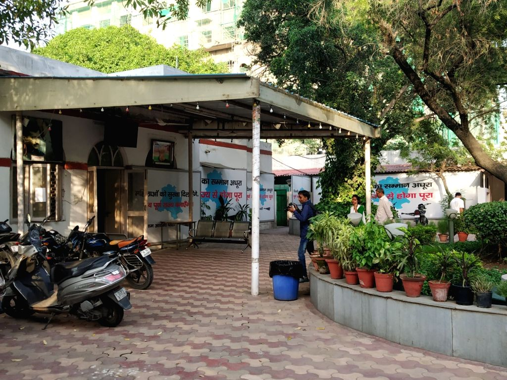 A view of Aam Aadmi Party's Head Office