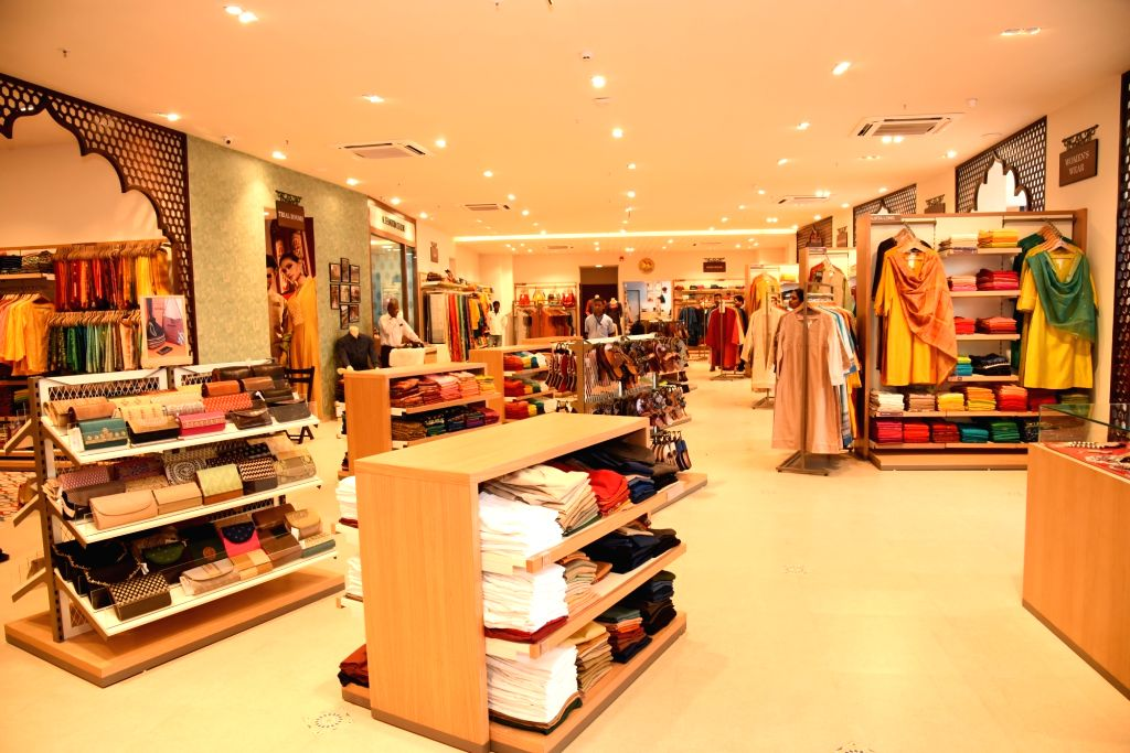 A view of Fabindia's newly inaugurated Experience Centre, in Jaipur on Sep 29, 2019.