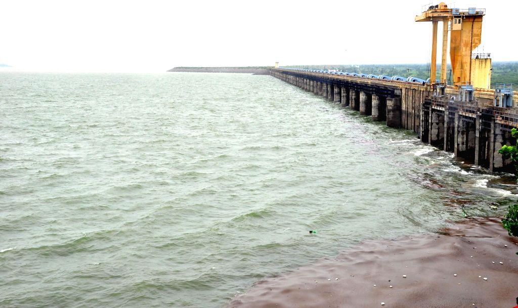 A view of Kakatiya canal in Nizamabad district of Telangana on Aug 3, 2016.