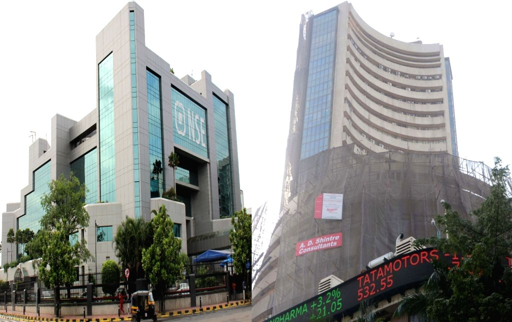 A view of National Stock Exchange (NSE) and Bombay Stock Exchange (BSE). (File Photo: IANS)