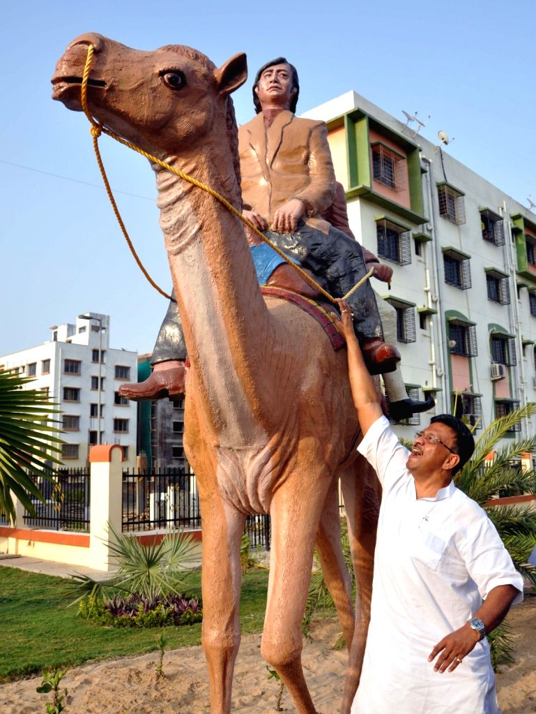 """A view of newly inaugurated """"Sonar Kella Udyan"""" a Satyajit Ray themed park by West Bengal Urban Development Minister Firhad Hakim at New Town in Kolkata, on May 6, 2017. - Firhad Hakim"""