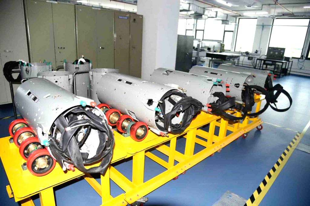 A view of Nucon Aerospace's production facility in Hyderabad on Aug 19, 2017.