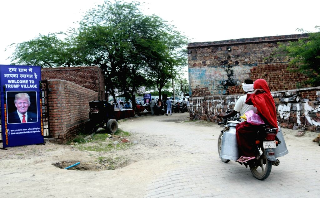 A view of Nuh village in Haryana on June 23, 2017.