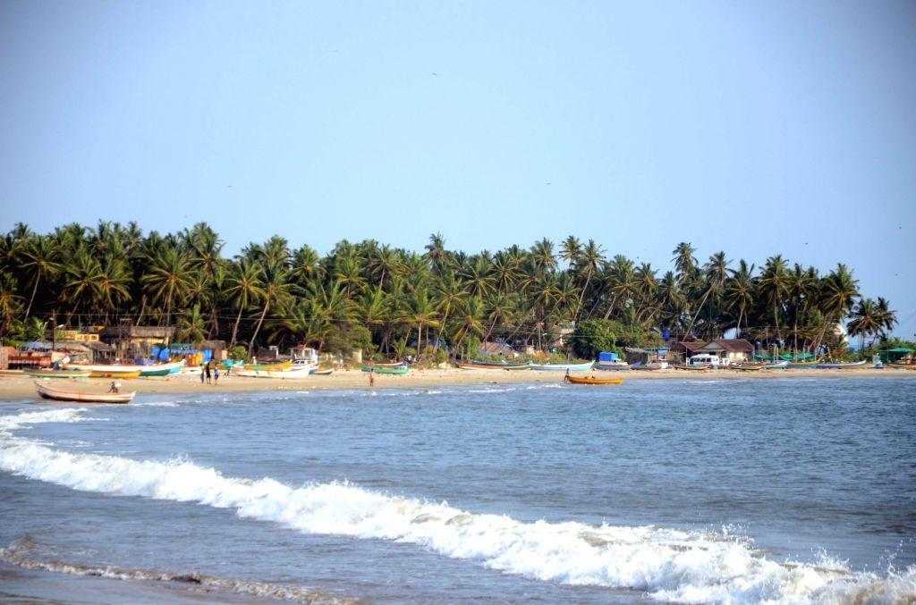 A view of sea beach at Malvan in Sindhudurg district of Maharashtra on May 27, 2017.