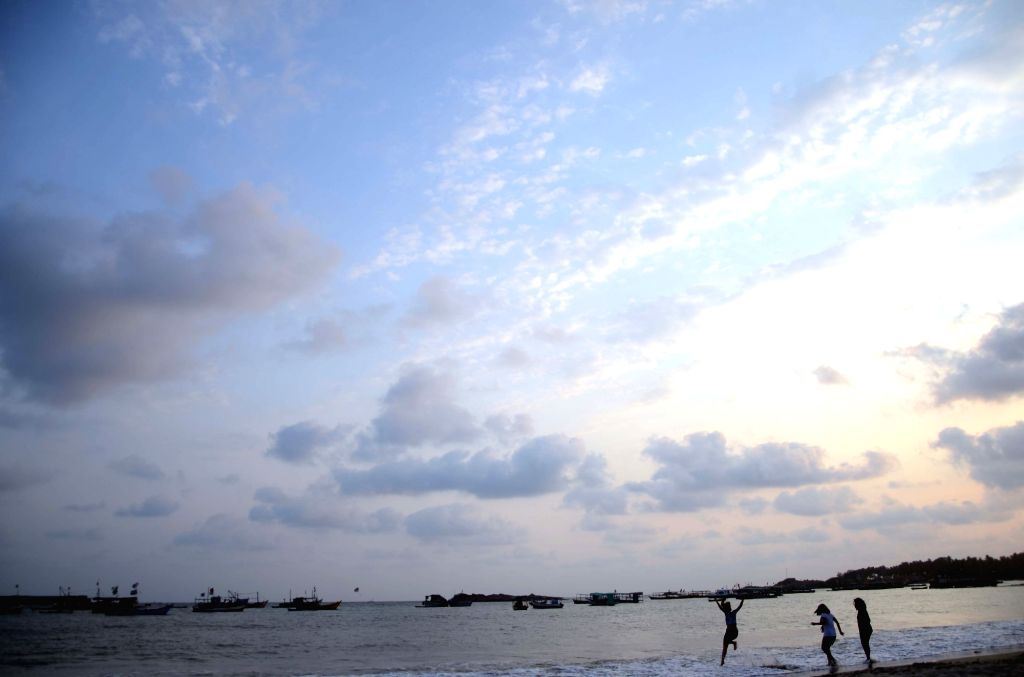A view of sea from Malvan beach in Sindhudurg district of Maharashtra on May 28, 2017.