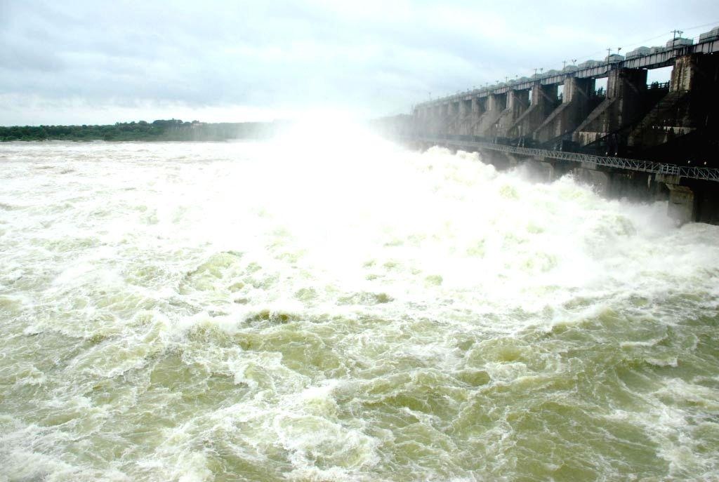 A view of Singur Dam in Medak district of Telangana on Sept 24, 2016.