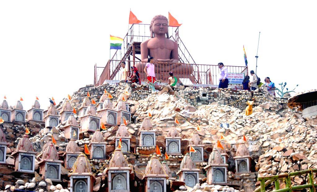 A view of Teerthankar Rishabh Deo Tapasthali in Allahabad on Sept 18, 2016.