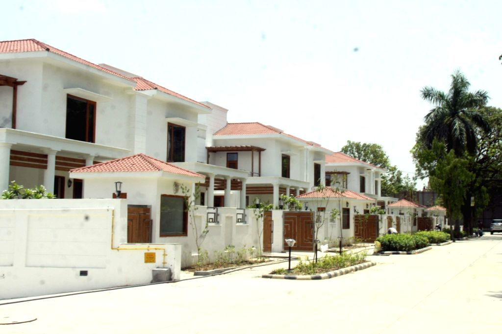 A view of the bungalows that are ready to be allotted to newly-elected MPs in Lutyens??? Delhi???s North Avenue, on June 13, 2019. The MPs will be given accommodation by the House ...