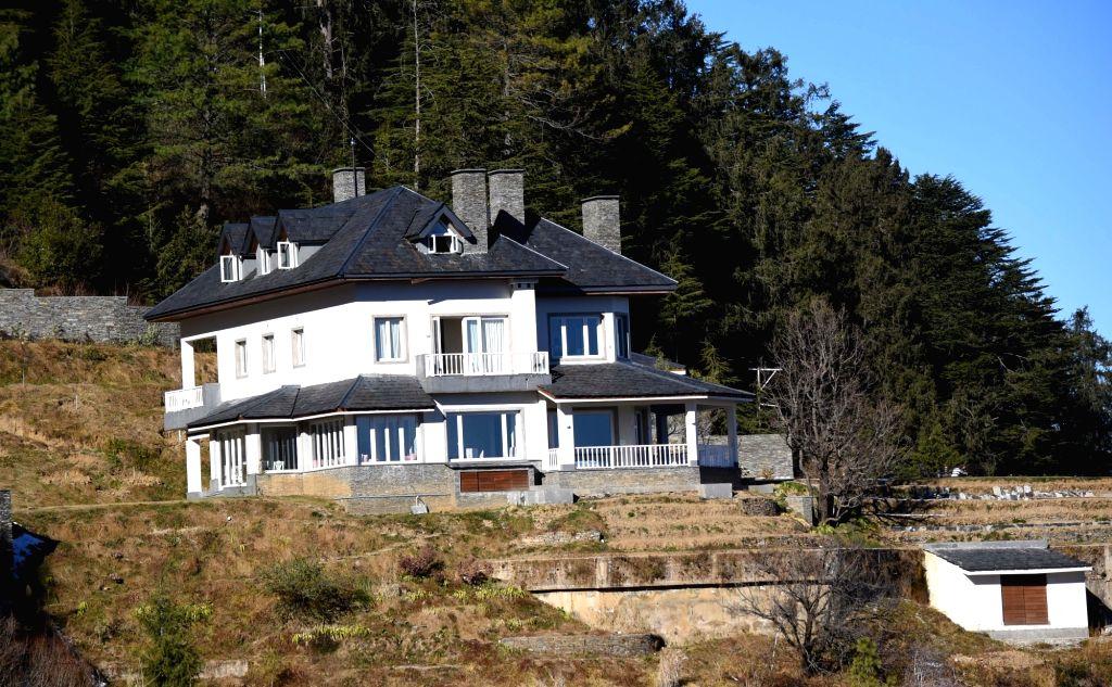 A view of the dream house of Congress General Secretary Priyanka Gandhi Vadra in Charabra, some 15 km uphill from Shimla in Himachal Pradesh, on July 26, 2019.