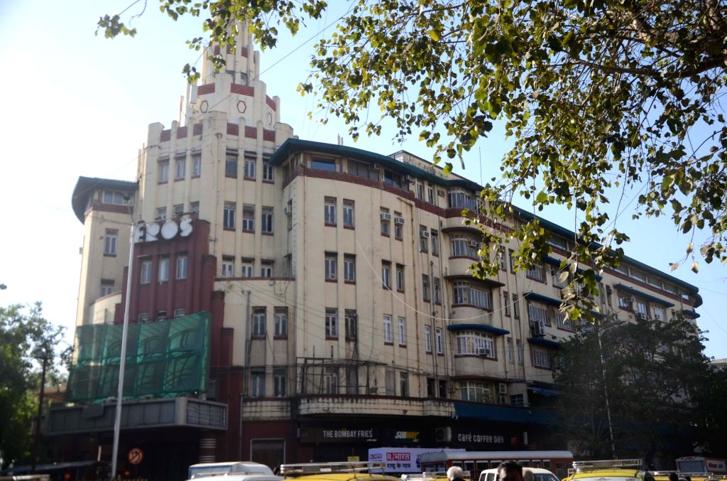 A view of the Eros Cinema in Mumbai. (File Photo: IANS)