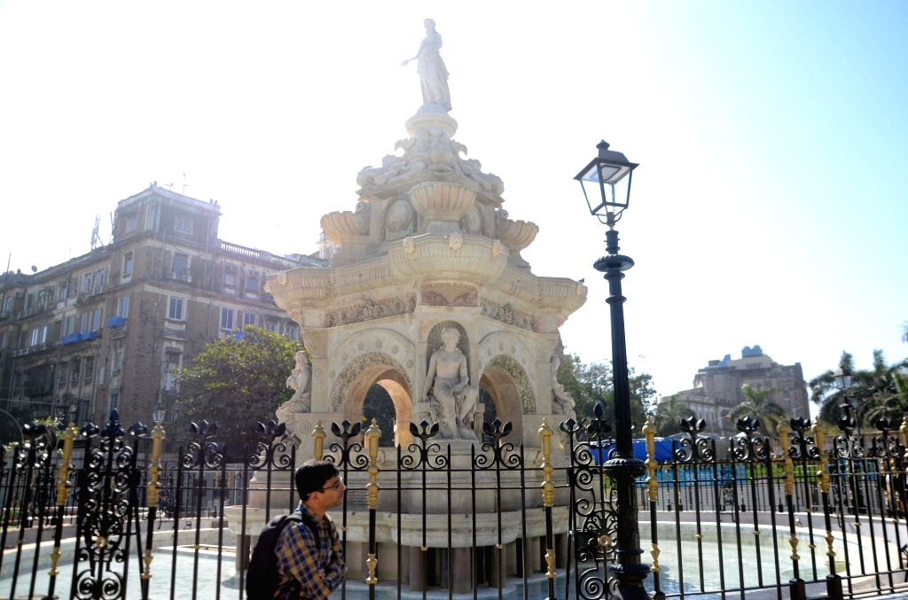 A view of the Flora Fountain in Mumbai. (File Photo: IANS)