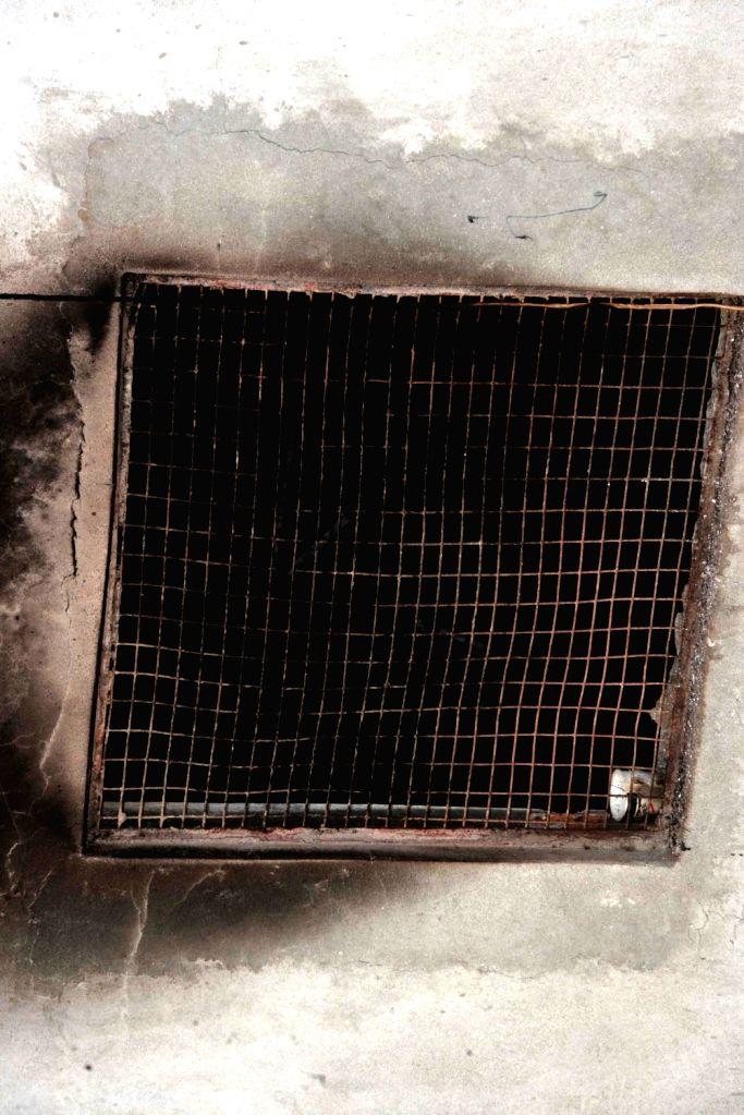 Fire at a garment manufacturing unit