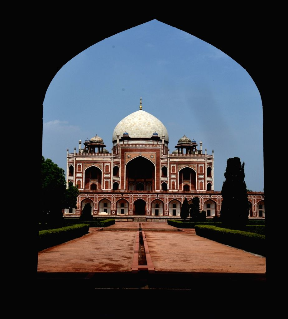 A view of the Humayun's Tomb in New Delhi on July 5, 2020. The Central government on Thursday issued a slew of directions for reopening of monuments and museums, protected by the ...