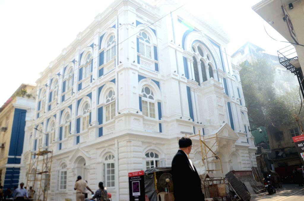 A view of the newly restored Keneseth Eliyahoo Synangogue in Mumbai, on Feb 5, 2019.