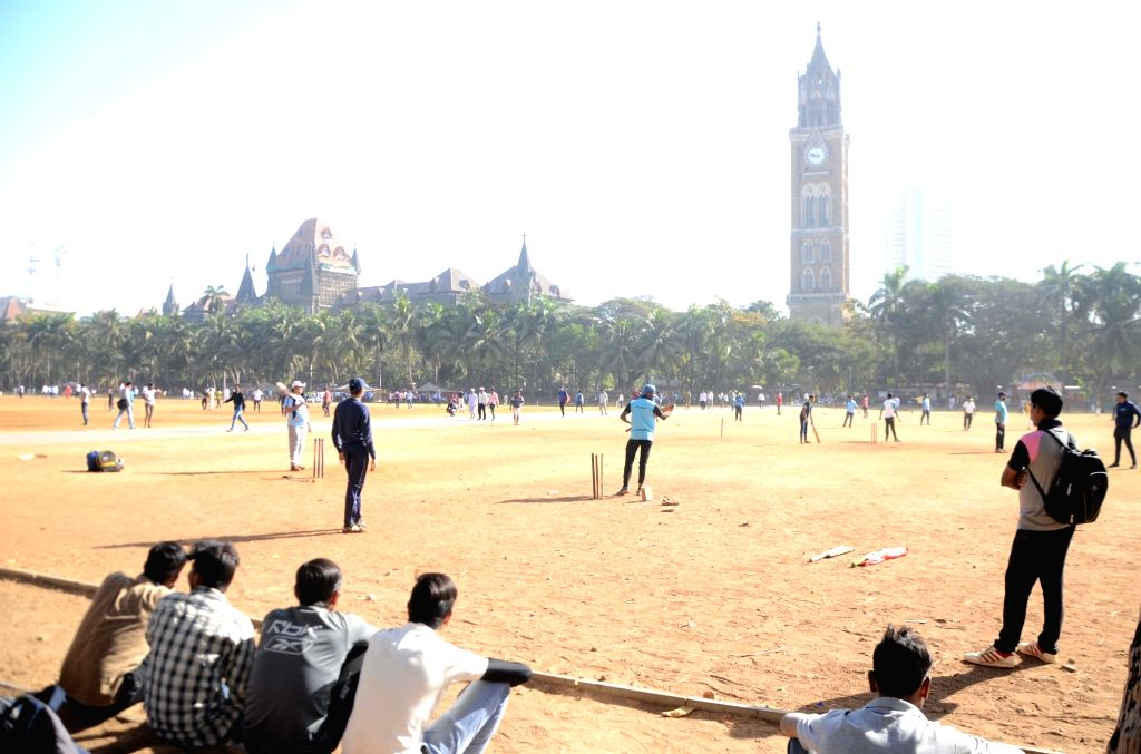 A view of the Oval Maidan recreational ground in Mumbai. (File Photo: IANS)