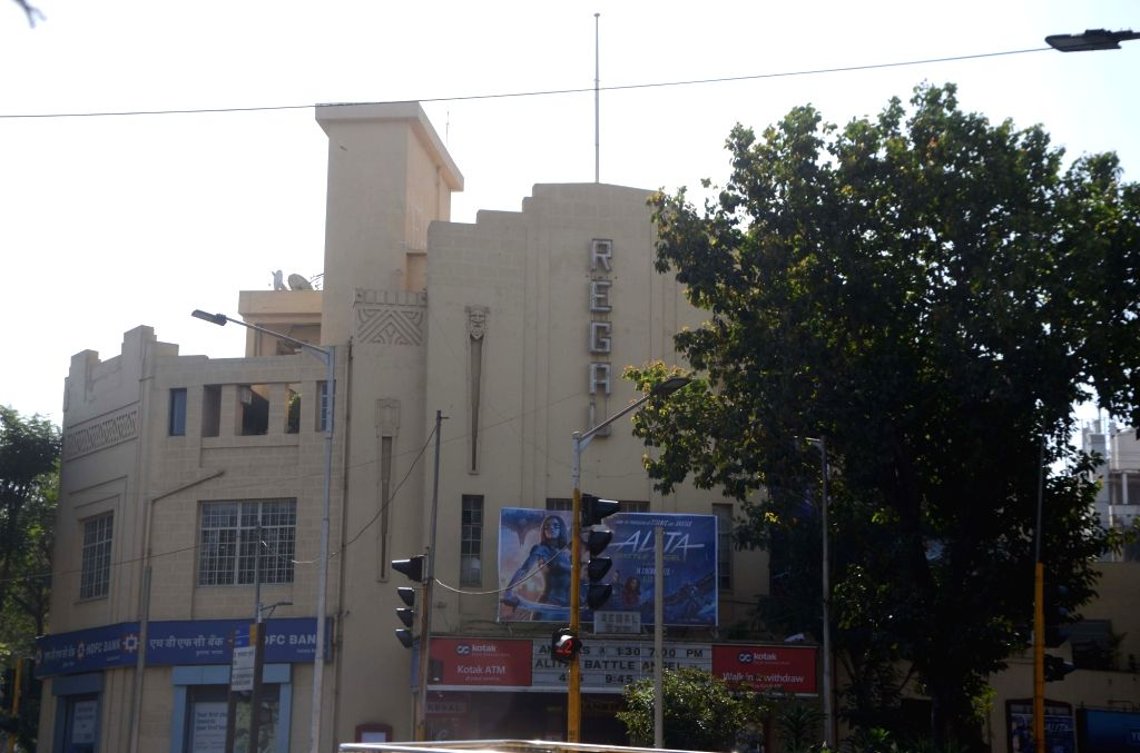 A view of the Regal Cinema in Mumbai. (File Photo: IANS)