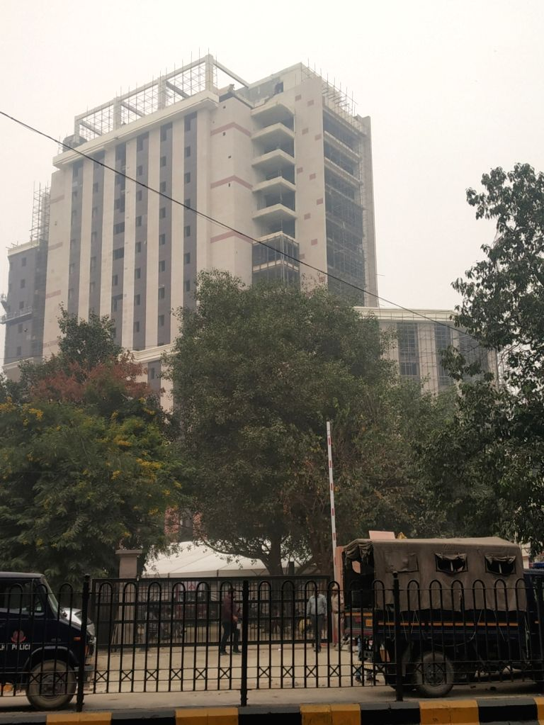 A view of the the new Delhi police headquarters near Parliament, on Oct 29, 2019.