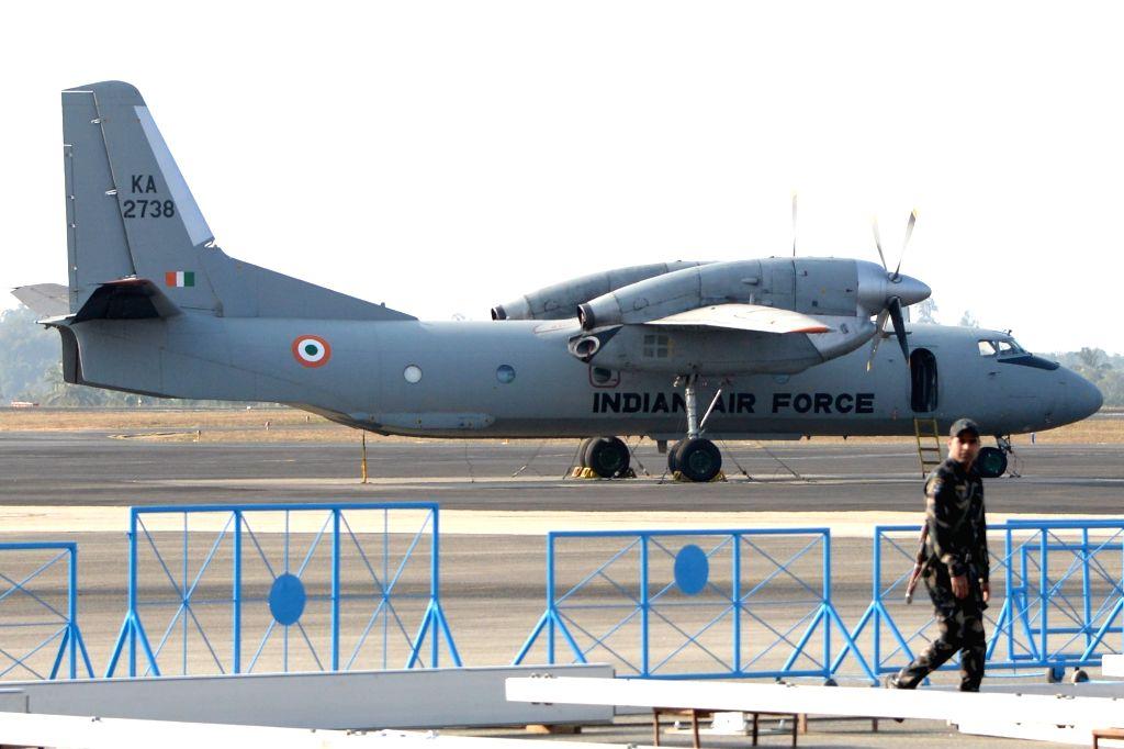 A view of Yelahanka Air Force Station, near Bengaluru where Aero India 2019 Show is scheduled to be held.
