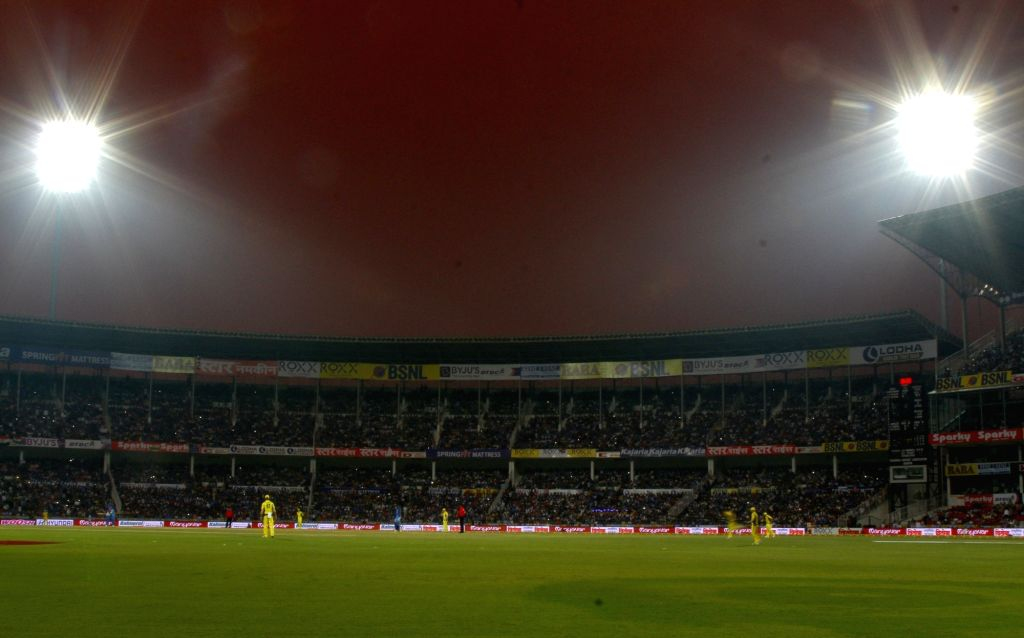 A view Vidarbha Cricket Association Stadium in Nagpur.