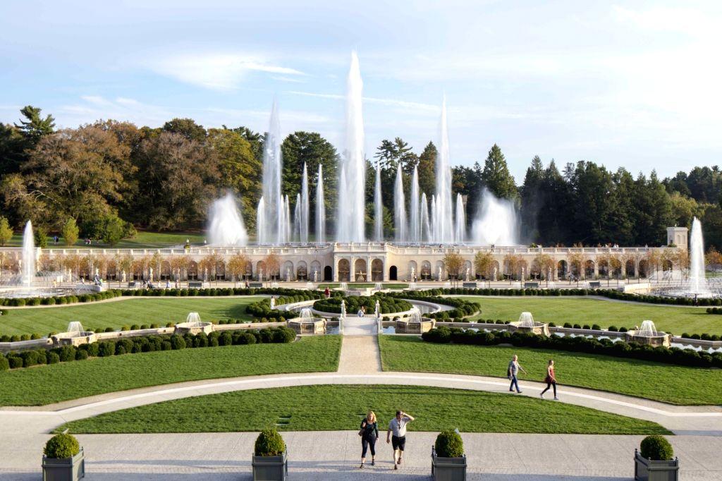 A virtual walk of the Longwood Gardens.