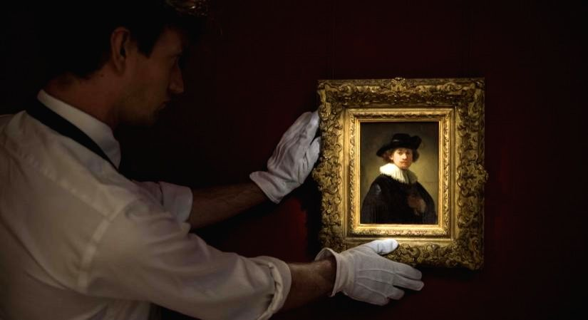 AA valuable Rembrandt self-portrait heads to auction.