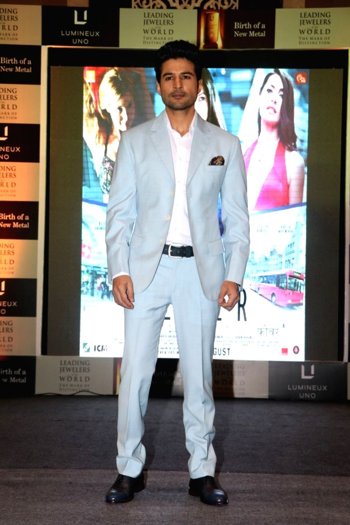 Aactor Rajeev Khandelwal during the launch of Lumineux Uno, a premium luxury metal by The Leading Jewelers of the World in Mumbai on July 27, 2016. - Rajeev Khandelwal