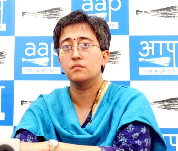 AAP leader Atishi Marlena. (File Photo: IANS)
