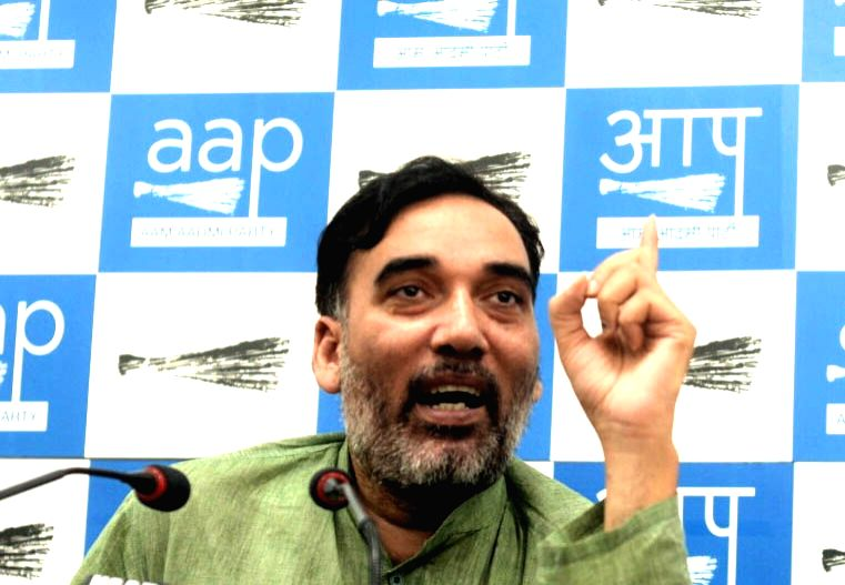 AAP leader Gopal Rai. (File Photo: IANS) - Gopal Rai