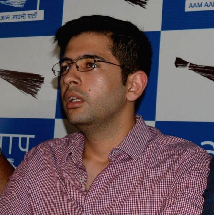 AAP leader Raghav Chadha. (File Photo: IANS)