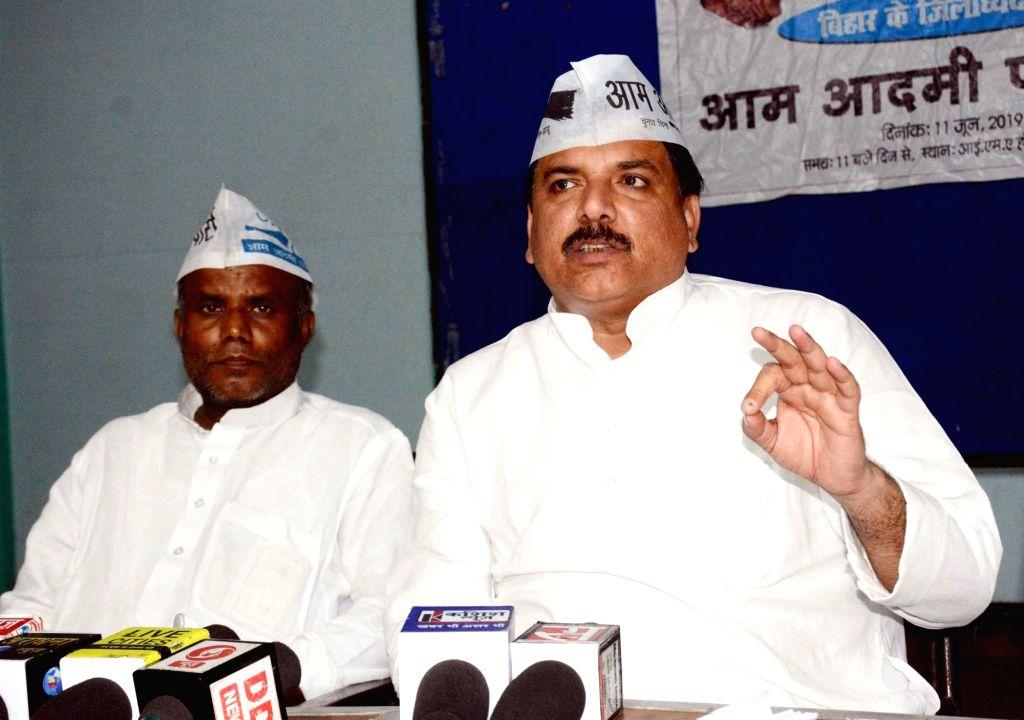AAP leader Sanjay Singh. (Photo: IANS) - Sanjay Singh