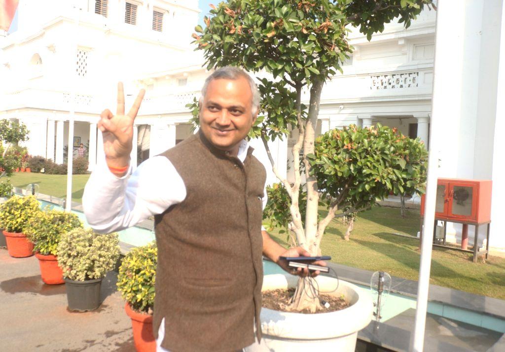 AAP MLA Somnath Bharti