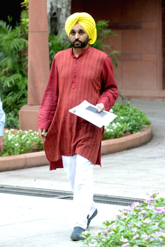 AAP's MP Bhagwant Mann comes out after appeared before the parliamentary panel regarding his act of filming details of Parliament complex and uploading the video on social media at ...