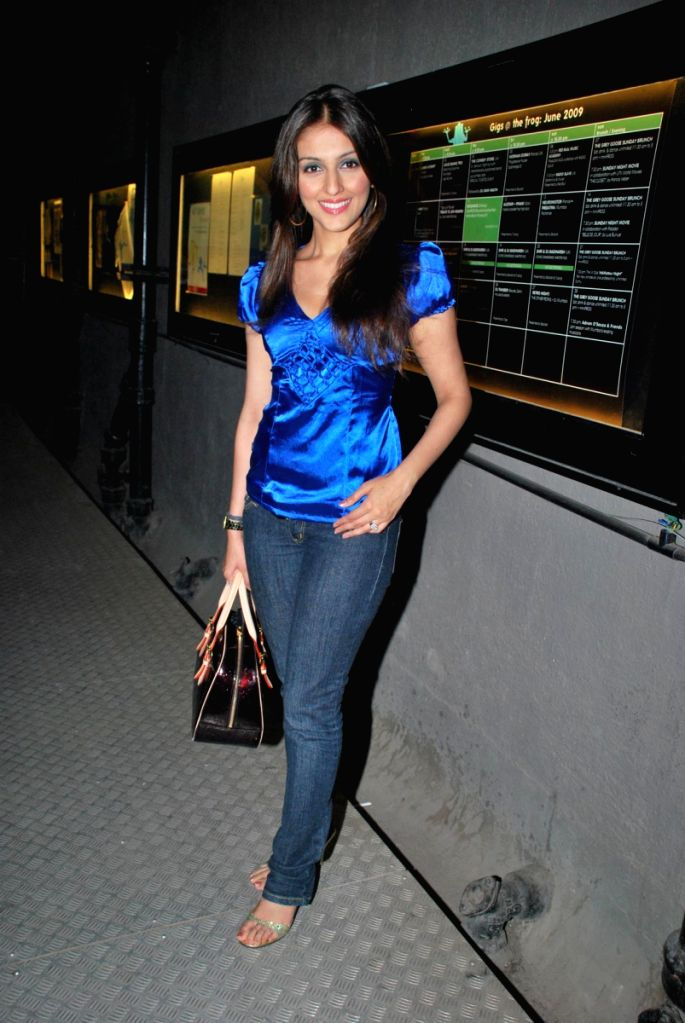 Aarti Chabbria at the Comedy Store Tour in Mumbai.