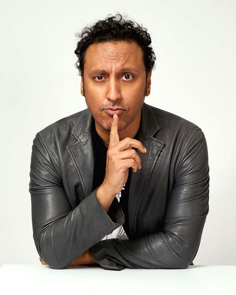 Aasif Mandvi.
