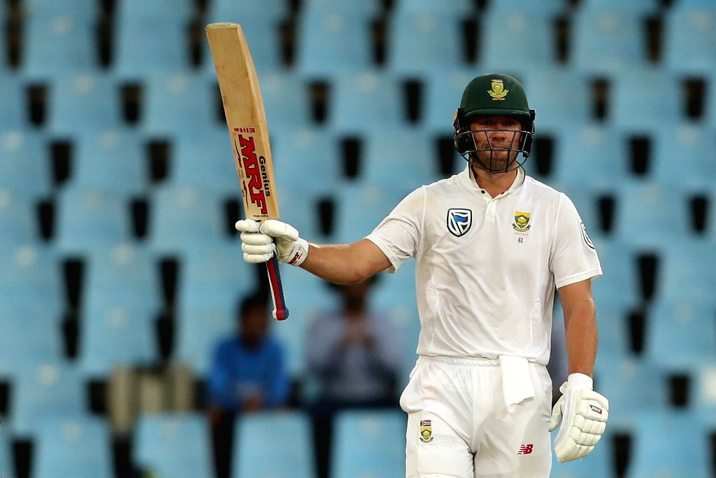 AB de Villiers of South Africa celebrates his half century during day 3 of the second Test match between South Africa and India at the Supersport Park Cricket Ground in Centurion, South ...