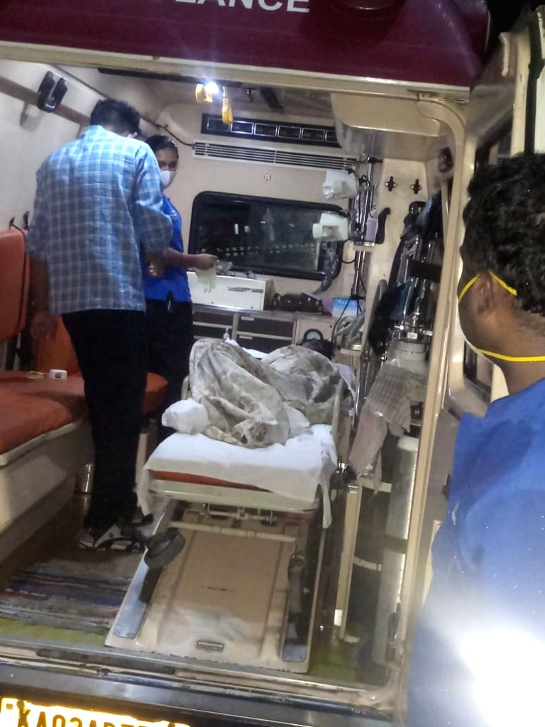 Abandoned woman Covid patient rescued from Bengaluru railway station.
