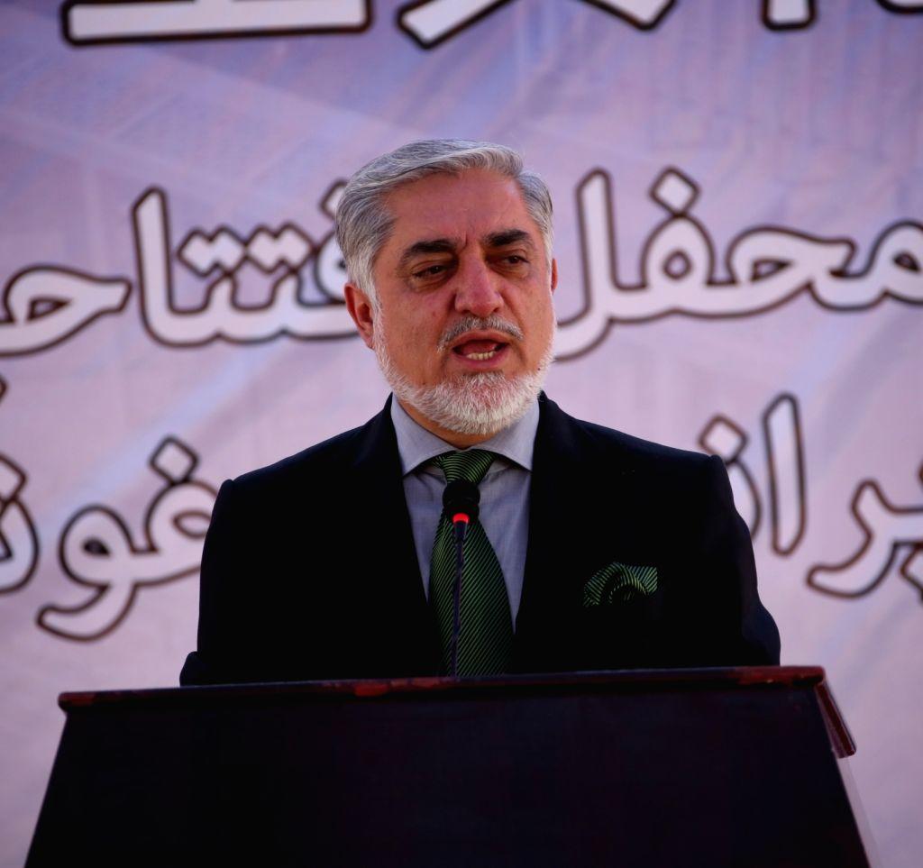 Abdullah Abdullah. (Xinhua/Rahmat Alizadah/IANS)