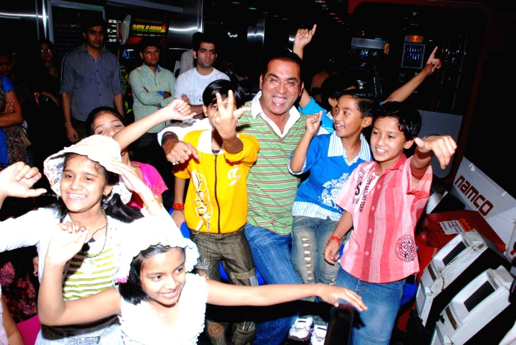 Abhijeet at Lil Champs kids fun event in Mumbai.
