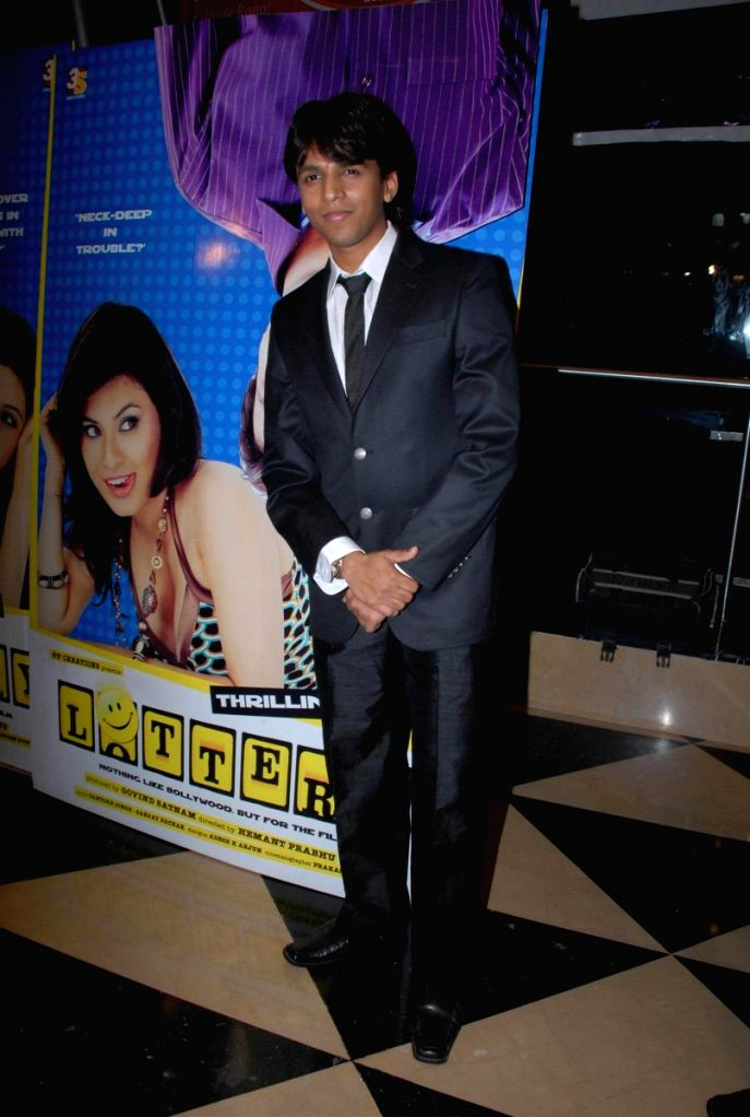 Abhijeet Sawant at the film 'Lottery' premiere.
