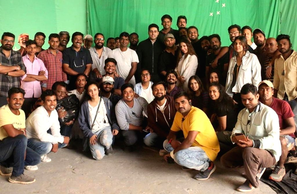 "Abhishek Bachchan thanks the cast and crew of Amazon Prime Video's ""Breathe into the shadows"". - Abhishek Bachchan"