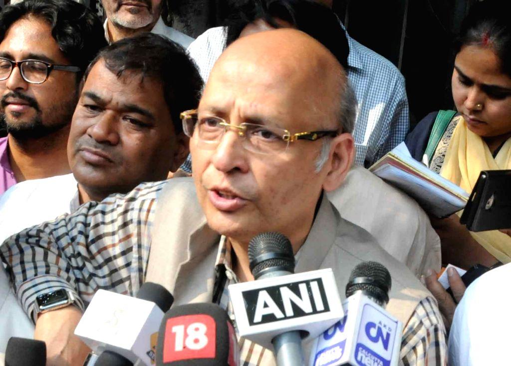 Abhishek Singhvi. (File Photo: IANS)