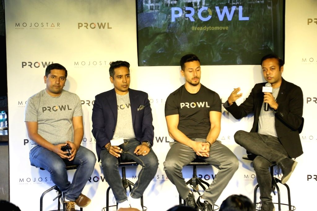 Abhishek Verma, Jiggy George, Tiger Shroff and Anirban Das. - Abhishek Verma