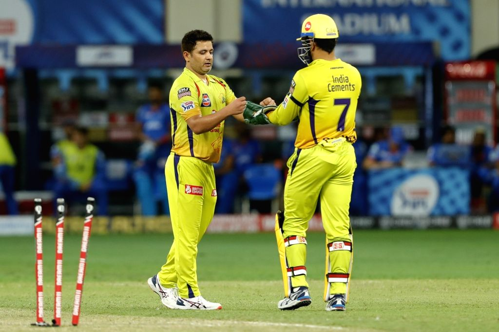 Abu Dhabi, Oct 7 (IANS) Chennai Super Kings (CSK) put up a masterclass of death over bowling on Wednesday to bowl out Kolkata Knight Riders (KKR) for 167 at the Sheikh Zayed stadium. KKR had crossed the 100-run mark in 12th over but managed to score