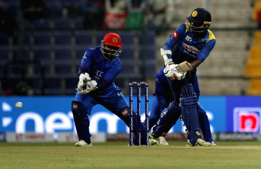 Abu Dhabi: Sri Lanka's Upul Tharanga in action during the third match (Group B) of Asia Cup 2018 between Sri Lanka and Afghanistan at Sheikh Zayed Stadium, in Abu Dhabi on Sept 17, 2018.