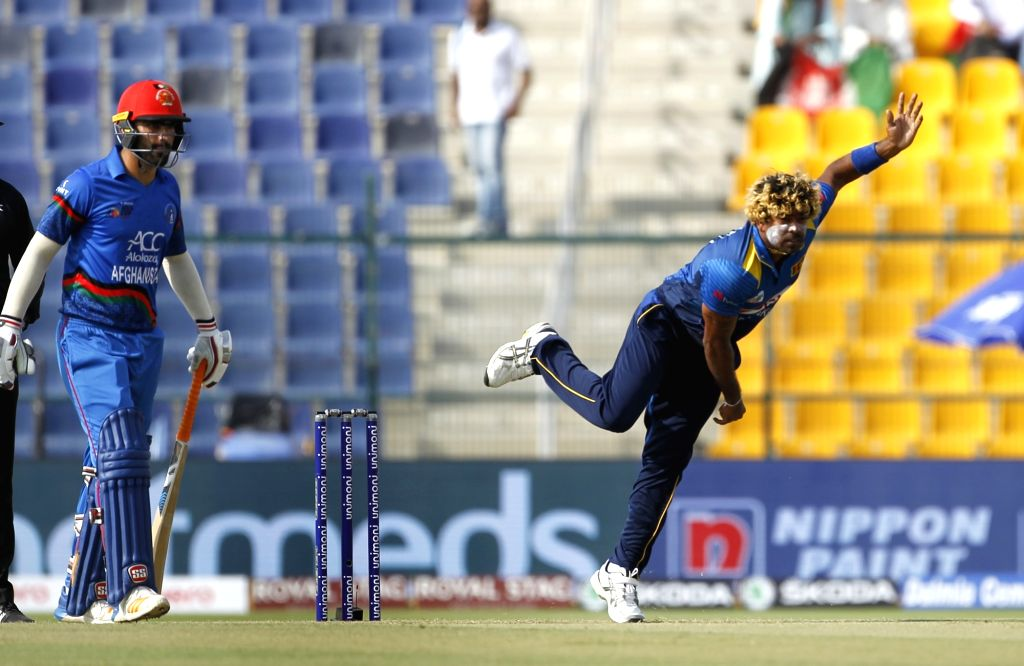 Abu Dhabi (UAE): Sri Lanka's Lasith Malinga in action during the third match (Group B) of Asia Cup 2018 between Sri Lanka and Afghanistan at Sheikh Zayed Stadium, in Abu Dhabi on Sept 17, 2018.