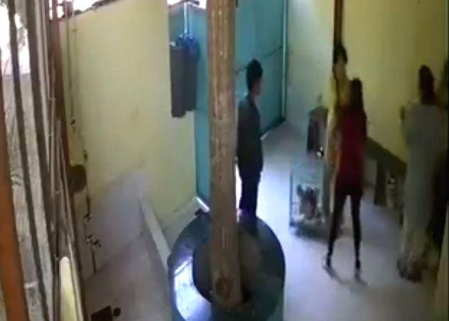 Acclaimed actor Naseeruddin Shah's daughter Heeba Shah had beaten up two women employees of a veterinary clinic here. - Naseeruddin Shah and Heeba Shah