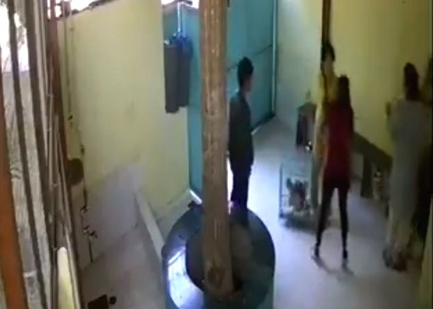 Acclaimed actor Naseeruddin Shah's daughter Heeba Shah had beaten up two women employees of a veterinary clinic here. - Naseeruddin Shah and Heeba Shah
